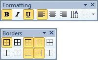 ToolBar Toggle Buttons